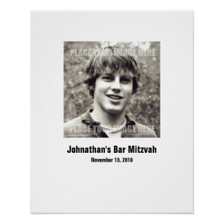 Bar Mitzvah Sign In Party Board