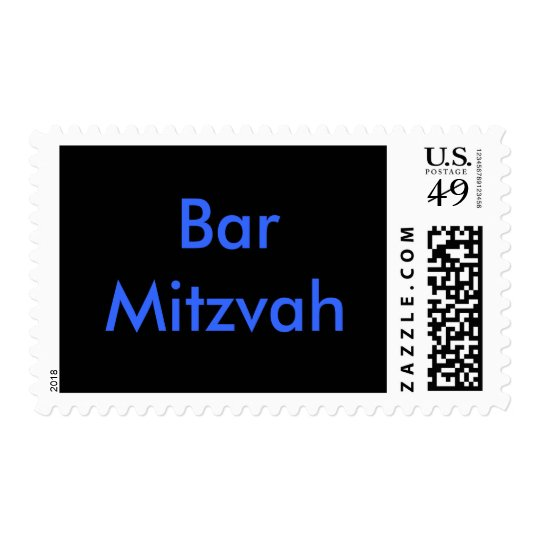 Bar Mitzvah stamps