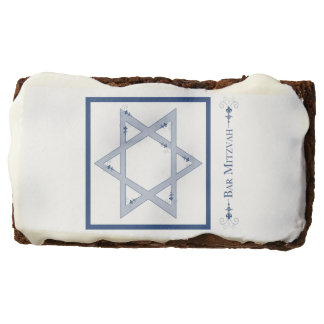 bar mitzvah (star of david elegance) brownie