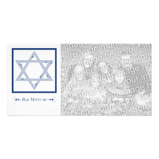 bar mitzvah (star of david elegance) card