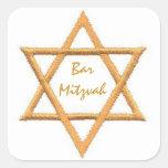 Bar Mitzvah/Star of David Sticker