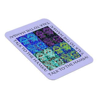 Bar Mitzvah Talk To The Hamsa 'Magnet GiveAway' Rectangular Photo Magnet