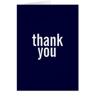 Bar Mitzvah Thank You Cards {Dark Blue}
