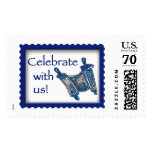 Bar Mitzvah Torah Postage Stamps