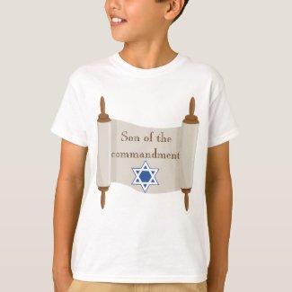 Bar Mitzvah Torah Scroll Son of the Commandment