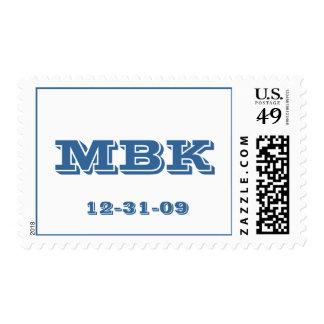 Bar Mitzvah Varsity Letter Stamps