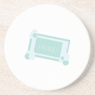 Bar Of Soap Beverage Coaster