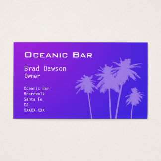 Bar Owner Business card