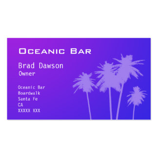 Bar Owner Business card