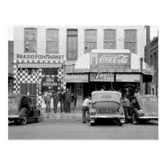 Bar & Restaurant, 1939 Postcard
