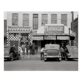 Bar & Restaurant, 1939 Poster