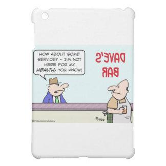 bar service for my health iPad mini cover