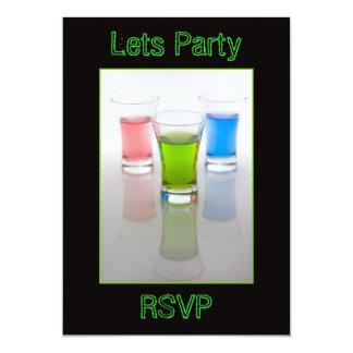Bar Shots Invitation