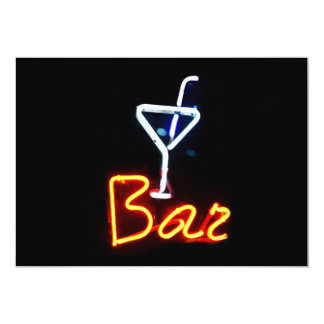 Bar Sign Invitation