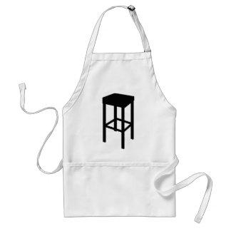 bar stool adult apron
