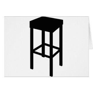 bar stool card