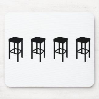 bar stools mouse pad