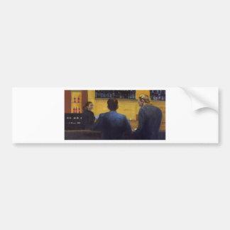 Bar Talk Bumper Sticker