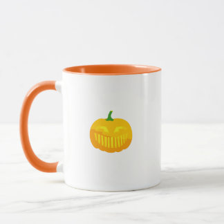 Bar Teeth Jack-O-'Lantern Mug