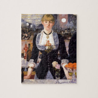 Bar Woman Painting Jigsaw Puzzles
