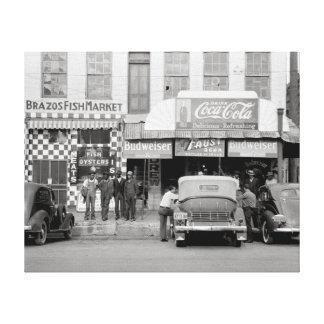 Bar y Restaurant, 1939 Lona Estirada Galerias
