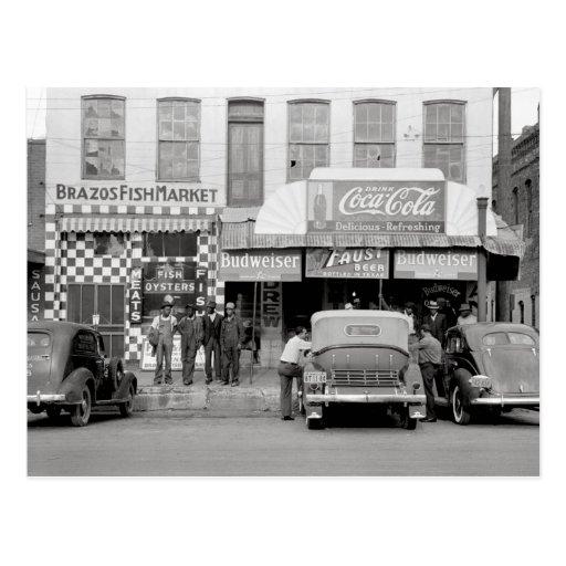 Bar y Restaurant, 1939 Postal