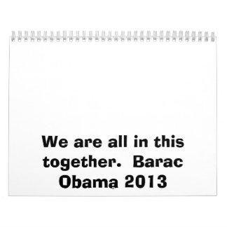 Barac Obama Calendar