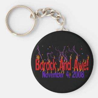 Barack and Awe Keychain