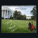 "Barack and Michelle 2017 - Calendar<br><div class=""desc"">Organize your days while enjoying images of the Obama&#39;s during their 8 years in The White House.  As an added bonus,  this calendar provides the birthdays and wedding anniversary as well as some initiatives of the Obama&#39;s.</div>"
