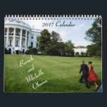 """Barack and Michelle 2017 - Calendar<br><div class=""""desc"""">Organize your days while enjoying images of the Obama&#39;s during their 8 years in The White House.  As an added bonus,  this calendar provides the birthdays and wedding anniversary as well as some initiatives of the Obama&#39;s.</div>"""