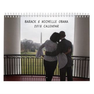 Barack and Michelle 2018 - Calendar