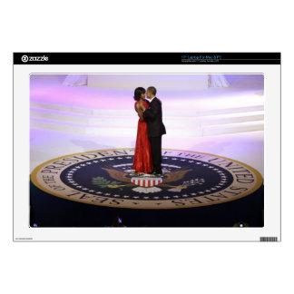 """Barack and Michelle Obama 17"""" Laptop Skins"""