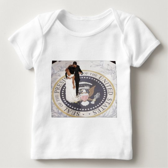 Barack and Michelle Obama Baby T-Shirt