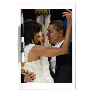 Barack and Michelle Obama Dry Erase Board