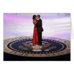 Barack and Michelle Obama Greeting Card