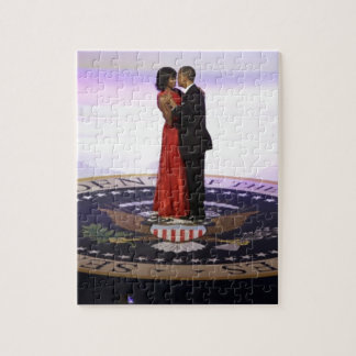 Barack and Michelle Obama Jigsaw Puzzle