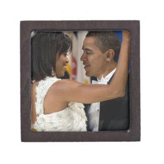 Barack and Michelle Obama Keepsake Box