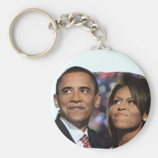 BARACK AND MICHELLE OBAMA keychain