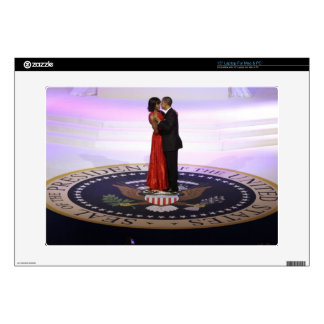 Barack and Michelle Obama Laptop Decals