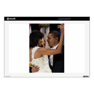 Barack and Michelle Obama Laptop Skin