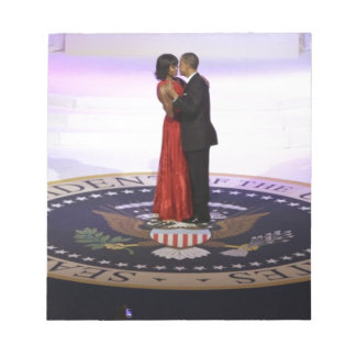 Barack and Michelle Obama Memo Note Pad