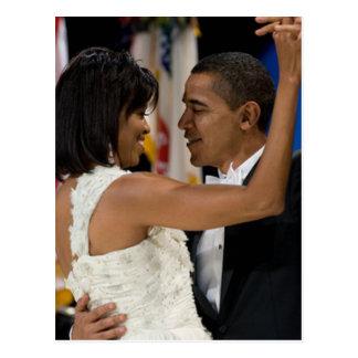 Barack and Michelle Obama Postcard