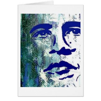 BARACK AND MICHELLE OBAMA PRESIDENT FIRST LADY CARD
