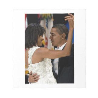 Barack and Michelle Obama Scratch Pad