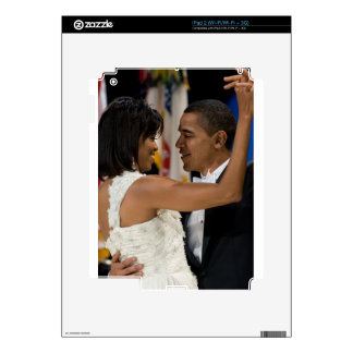 Barack and Michelle Obama Skins For iPad 2