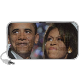 BARACK,AND MICHELLE OBAMA speakers