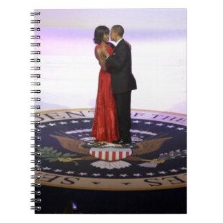 Barack and Michelle Obama Spiral Notebook