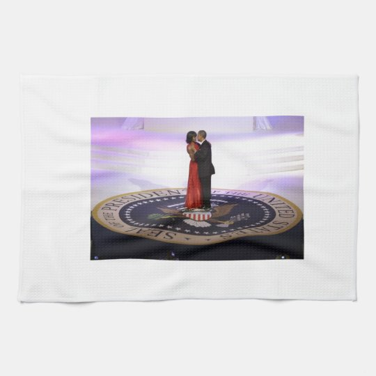 Barack and Michelle Obama Towel