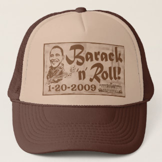 Barack and Roll 2009 Inauguration Hat
