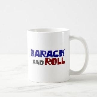 Barack And Roll Classic White Coffee Mug